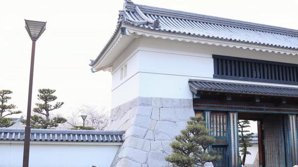 Okazaki Park Okazaki Castle Castle Gate of Spring
