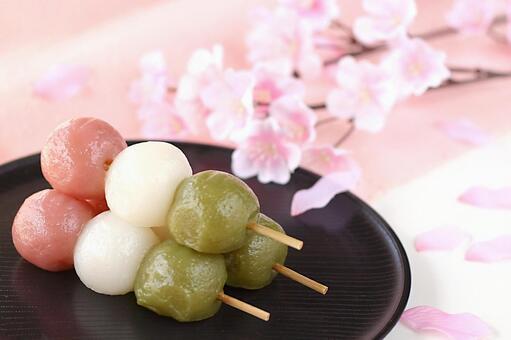 Ohanami dumpling