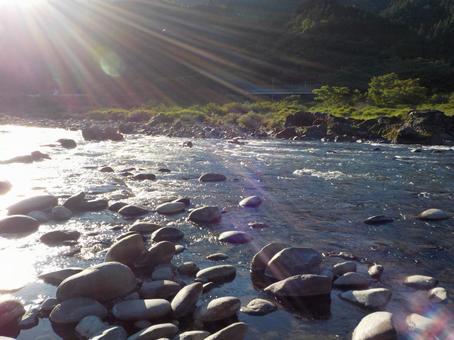 Scenery of Nagara River