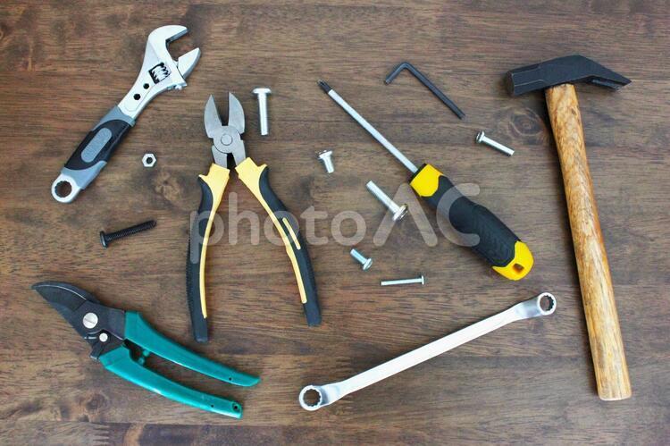 日曜大工 工具の写真