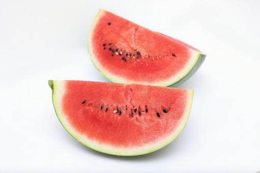 Watermelon 1/4 2 pcs