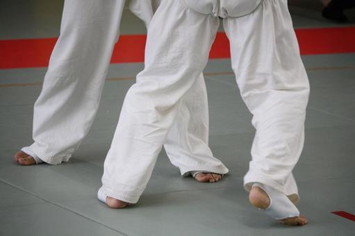 Karate's foot 2