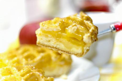 One piece of apple pie