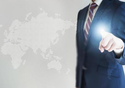 商人與全球業務