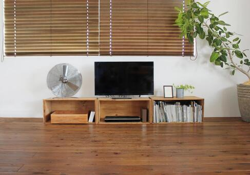 带电视柜的客厅