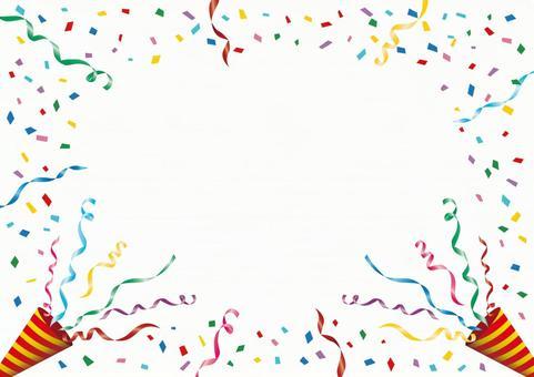 Confetti and crackers