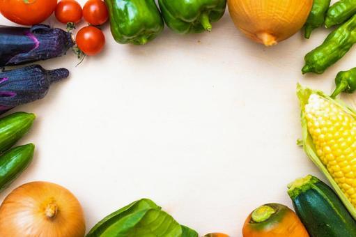 蔬菜_背景材料