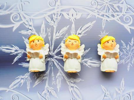 소형 잡화 크리스마스 - 천사의 성가대