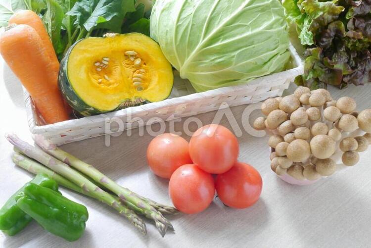 カラフルな野菜の写真