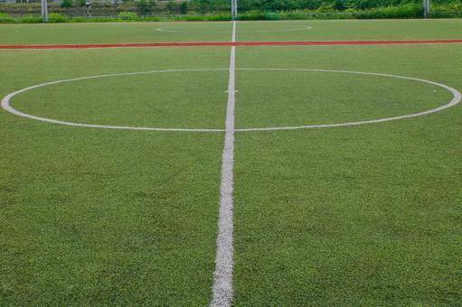 Futsal court center line