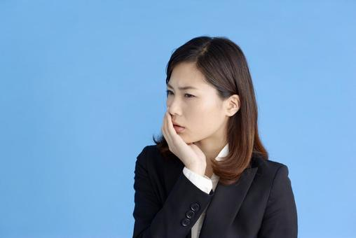 Thinking woman 4