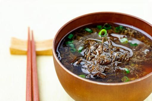 Natural Mosuku miso soup