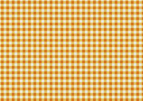 Gingham Check Texture [Campus / Orange]