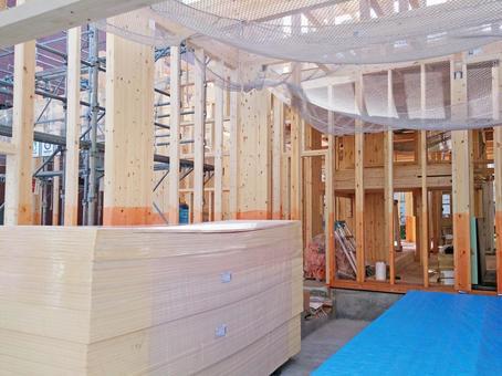 주택 신축 공사