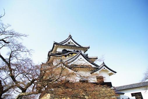 Hikone castle of national treasure