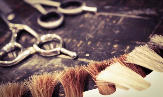 머리카락과 가위