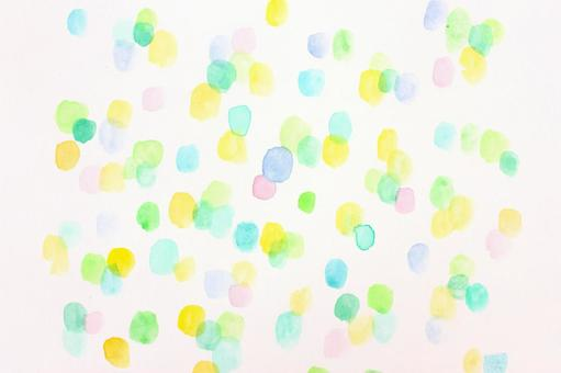 Water color dot 21