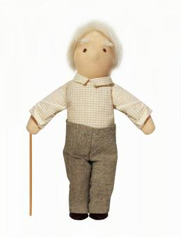 Grandpa's doll (psd background transparent)