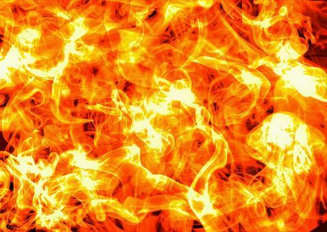 배경 소재 불꽃