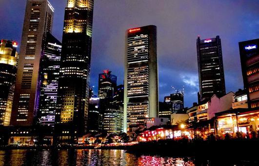 Singapore night view 5