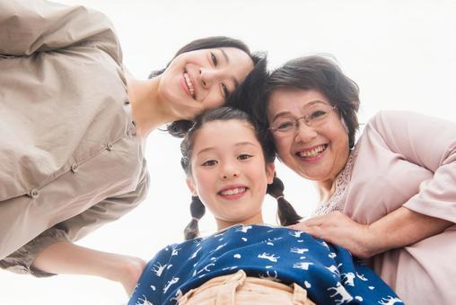 Female 3 generations 1