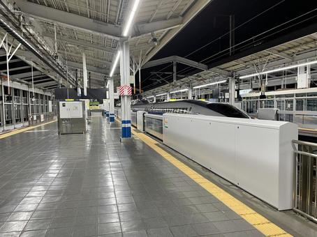 Okayama Station Shinkansen Home