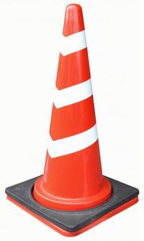 Crop material Road cone stripe 2