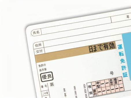 Driver's license ps01