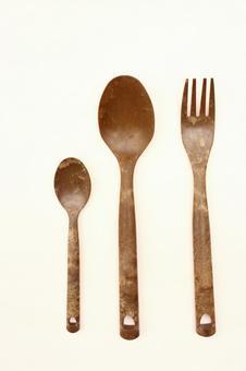 木製餐具(垂直)