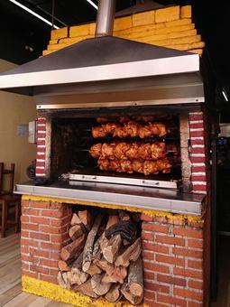멕시코 음식 통구이 치킨