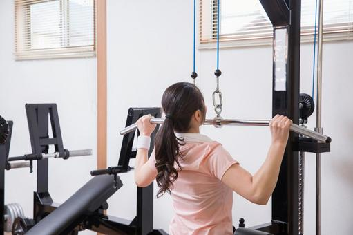 Muscle training women