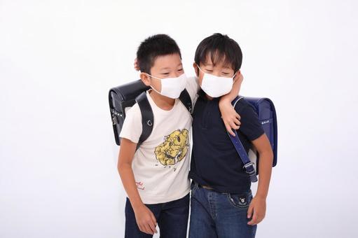 感冒的小學生1