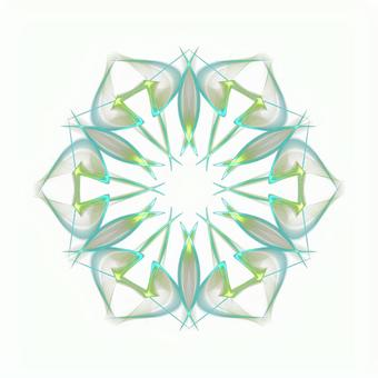 Fantasy hexagonal PSD background through 20201006_003