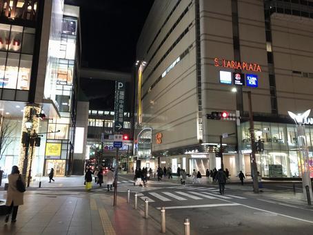 Fukuoka City Tenjin Kirameki Dori