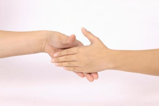 手部件(握手)3