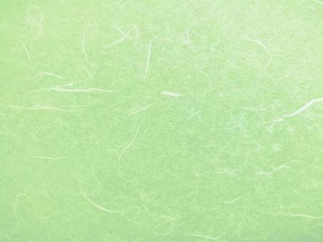 Japanese paper material - yellow green