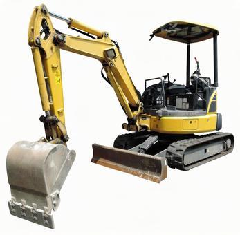Cut out material Mini excavator car