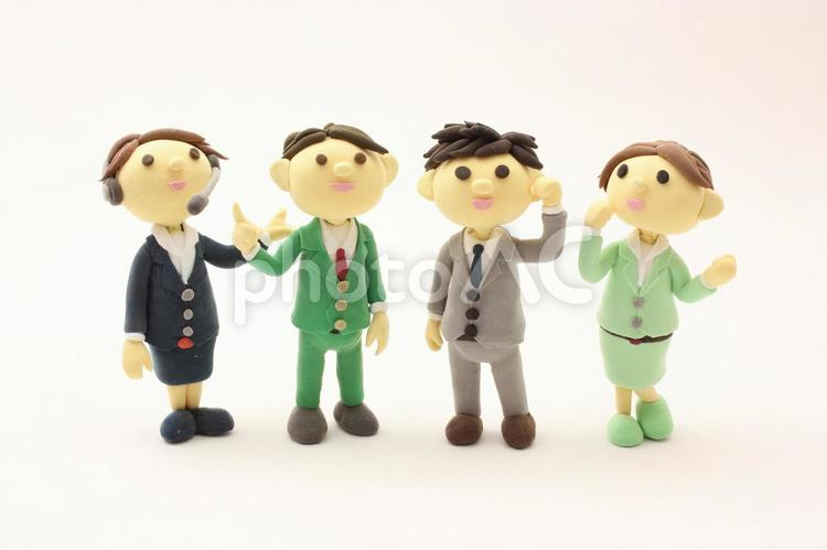 4人のビジネスマンの写真