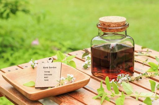 Aromatherapy at herb tincture
