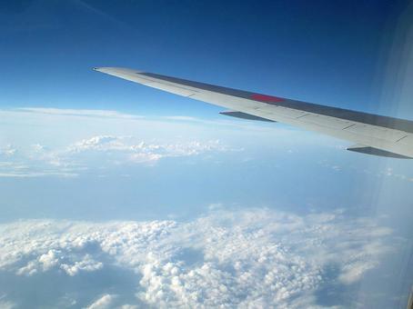 从飞机上查看