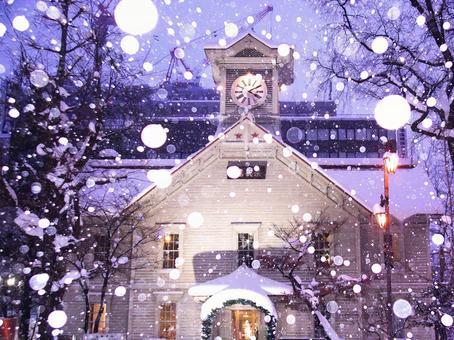 Sapporo's beautiful night view