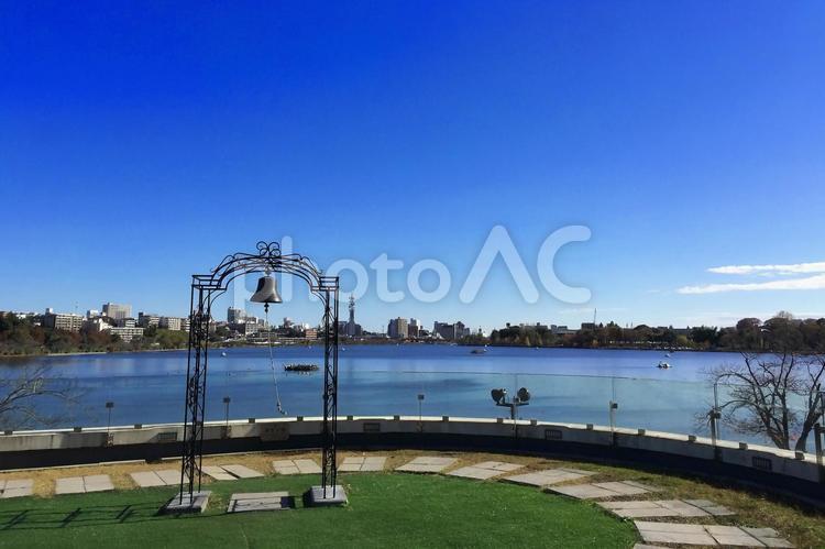 希望の鐘 茨城県水戸市 千波湖の写真