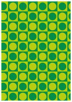 Geometric texture Othello green