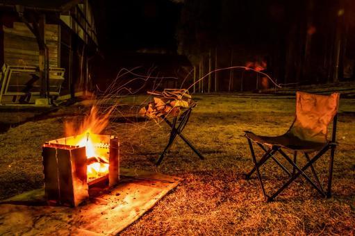 캠프 모닥불