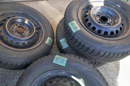 Tire change (rotation mark) 01