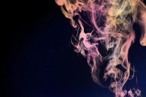 Ideal for pastel smoke frames Pink color Black background