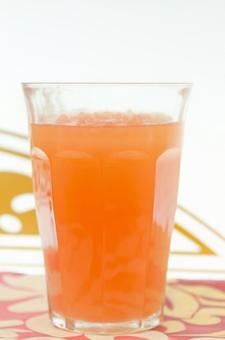 橙汁的食物樣本