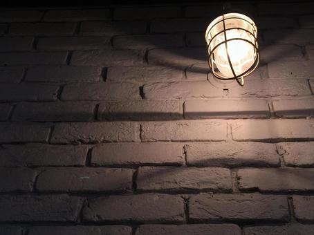Bricks and street lights