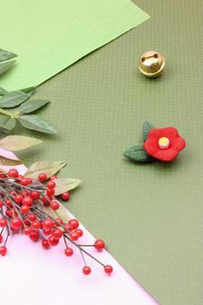 Senryo, bell and plum blossom