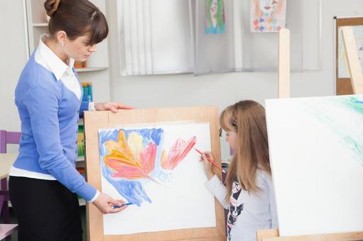 小学生美术课5教师的时间